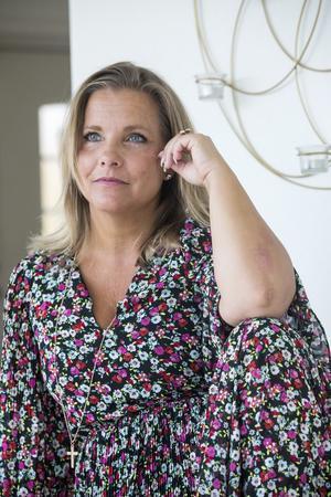 """""""Jag måste sluta tänka negativt om min kropp, sluta kontrollera den med kost och träning"""" säger Savita Norgren."""