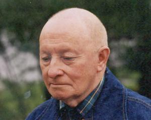 Nils-Otto Nordfjäll på motståndsrörelsens dag den 16 juli 1995 i Funäsdalen. Foto: Urban Engvall