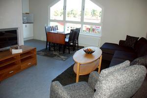 En interiörbild från en av lägenheter i RFAB:s Enålundshus.