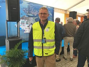 Projektchefen Magnus Sjöberg är snart klar med sitt omfattande jobb.