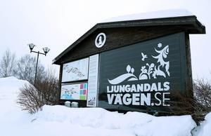 Borgsjö är i dag Ljungandalsvägens västligaste utpost, men ska förhoppningsvis få en mer central position i framtiden.