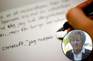 I förlängningen sällar sig nu Postnord till den rad av fenomen som äventyrar det framtida handskrivandet, och detta alltså med sina orimliga portohöjningar på brev och kort, skriver Brith Louise Larzon. Foto: Pontus Lundahl / SCANPIX.