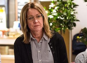 Bildningsnämndens första vice ordförande Lena Lindgren (C).