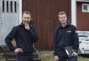 Peter Bäcke och Johan Szymanski vid Mora brandkår genomförde