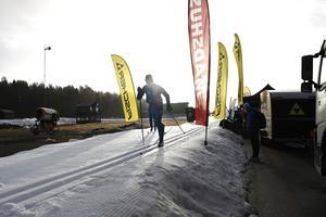 Längdspåren är nu öppna på Idre Fjäll.