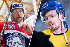 Martin Röymark var inblandad i en omdiskuterad situation i OS-premiären. Bild: Fredrik Varfjell/Carl Sandin/Bildbyrån/Montage