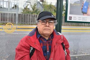 Mauricio Rivera, 69 år, Rimbo: Det är bra med höga betyg för att ungdomar ska säkra sin framtid. Hoppas mina barnbarn ser det här.