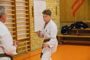 16-årige Teddy Andersson går VVS-linje på gymnasie i Västerås men är ursprungligen från Avesta.