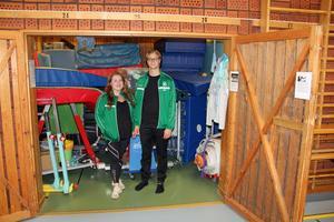 Anna Berggren och Dennis Tapper vill att klubben ska utvecklas. Då behövs bättre lokaler.