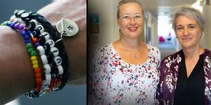 Förebyggande, behandling och uppföljning av självmord har hög prioritet i Region Gävleborg, enligt Jennie Palmberg och Charlotte Agnevik jonsson.  Foto: Suicide Zero och Region Gävleborg