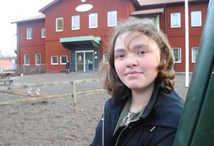 Meja Hansson, från Olsbacka, var en av fem elever från Aspebodaskolan, som var inblandad i onsdagsmorgonens bussolycka.