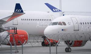 SAS öppnar tre direktlinjer till och från Sälen/Trysil. Foto: TT