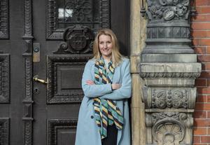 Skönhetsexperten, Eva-Lena Rylander jobbar hårt med sitt hudvårdsföretag.