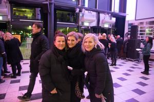 Jenny Erikson, Malin Bad och Caroline Svensson från Östersund hade på den sistnämndas inrådan tagit sig till Danny-konserten.