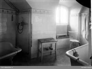 Det var en lyx att ha eget badrum på 1920-talet.Foto: Nordiska museet