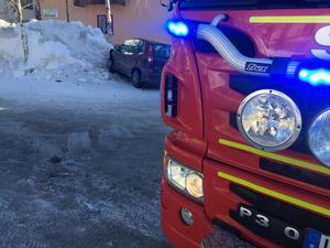 Räddningstjänst och polis åkte ut till platsen.