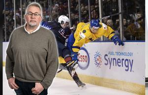 Sverige flyger vidare i junior-VM även om man fick sig en läropeng, skriver Hockeypuls redaktör Per Hägglund. Bild: Joel Marklund/Bildbyrån