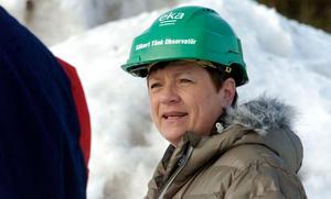 Eva Mörk Månsson är en av tre S-politiker som anser att man bör rita om vindkraftskartan som finns i Ånge kommuns översiktsplan.