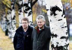 Erland och Joakim Larsson.Foto: Scanpix
