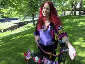 Tack vare kulturstipendiet får Teresa Fyhr möjlighet att göra en inspirationsresa till Asien med målet att skapa en egen kimonokollektion av återvunna sjalar och scarves.