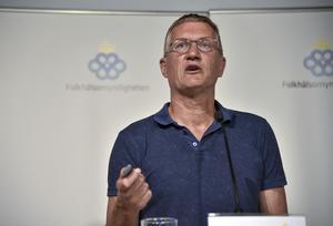 Anders Tegnell, statsepidemiolog vid Folkhälsomyndigheten.