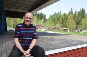 Bengt Swenson var parkchef i Säterdalen mellan 1978 och 1996.