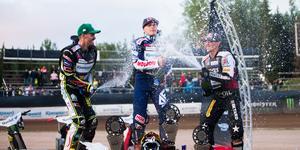 Emil Sayfutdinov vann årets GP-tävling i Hallstavik på 17 poäng. Nästa år blir en sådan seger värd 20.
