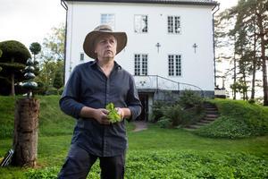 Hildasholms trädgårdsmästare Ingemar Blomqvist.