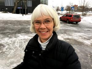 Elisabet Lundgren, 70, pensionär, Sundsvall: