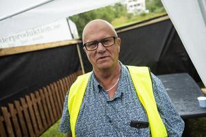 Tommy Bergquist, ordförande i Lövviks by- och idrottsförening, var nöjd med uppslutningen.