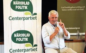 Hedesundabon Anders W Jonsson blir partiledare under Annie Lööfs föräldraledighet.
