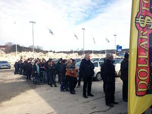 I mars öppnade Dollar Store i Örnsköldsvik (igen).