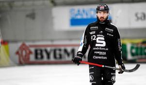 Alan Dzhusoev spelade i Sandviken förra säsongen.