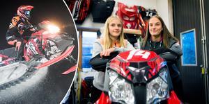 Hilda Arnesson, 14, och Thea Arnesson, 16, är de talangfulla Njurunda MK-systrarna från Jättendal som kommer mötas i SM-serien för seniorer för första gången i vinter.