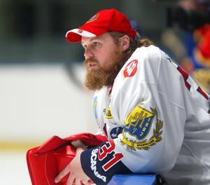 Foto: Bildbyrån. Magnus Lindquist år 2004 när SSK spelade i Elitserien.