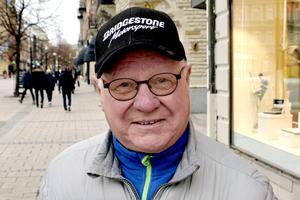 Markku Joutsen, 73 år, pensionär, Skönsberg: