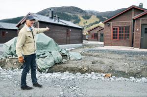 Enligt Mats Svensson valde man den bruna färgen, i samråd med kommunen, för att det passade bäst i Åre.