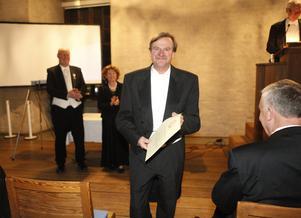 Naturvårdaren och fotografen Rolf Lundqvist, Enviken prisades. Foto: Olle Norling