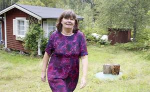 Annika Bergson bor i Stockholms innerstad men har också ett fritidshus utanför stan.