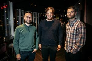 Jens Olsson, Jonas Hållander och Anders Kempe är gamla kompisar till Kevin Walker.