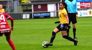 Alicia Ibrahim gjorde Mariebos första mål.