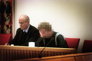 Vid häktningsförhandling i Dalarna. Foto: Johan Lundahl/Arkiv