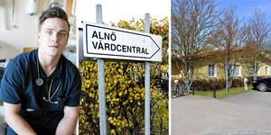 Verksamhetschef Anton Lifhjelm bemöter den senaste tidens kritik mot Alnö vårdcentral i en insändare. Bilder: Håkan Humla / Ove Öst
