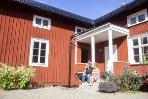 Anders Eklund är minst den åttonde generationen av sin släkt som bor på gården i Söderala. Han är glad att han kunnat vara med och ge den så mycket liv.