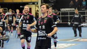 Patrik Rokka tar timeout efter händelsen mot Jönköping.