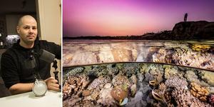 Martin Hanell satsar mot kommande VM i undervattensfotografering