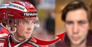 Carnbäck hoppas kunna spela redan på lördag mot BIK Karlskoga. Foto: Bildbyrån/Privat.
