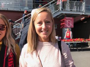 Matilda Andersson, 28 år, butiksbiträde, Östersund.