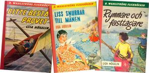 Lisa Högelin (1896–1980) skrev ett fyrtiotal ungdomsböcker .