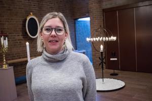Cecilia Lindblad är ny diakoniassistent i församlingen. Snart hoppas hon att man kan öppna en fritidsgård för yngre skolbarn i Grängesberg.